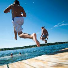 Orai: savaitei baigiantis Lietuvą užlies karščio banga