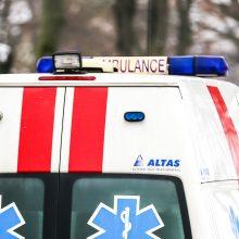 Plungėje partrenkta 77 metų moteris