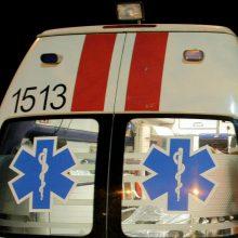 Ukmergės rajone susidūrė automobiliai, yra sužeistų žmonių