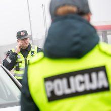 Per reidą įkliuvo girtas Policijos departamento teisininkas