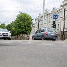 Prasideda darbai vienoje pagrindinių Kauno sankryžų: vairuotojams prireiks kantrybės