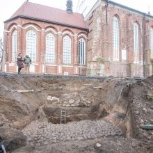 Šalia Šv. Jurgio Kankinio bažnyčios – netikėti radiniai