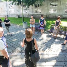 Apribotos galimybės keliauti miestiečiams leidžia pažinti Kauną