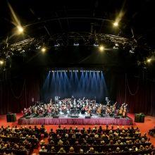 Simfoniniame koncerte – smuikininkė M. Kanagawa ir visa nugalinti meilė