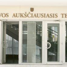 Aukščiausiajam Teismui laikinai vadovauja A. Gutauskas