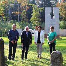 Kauno rajone gerbiamas holokausto aukų atminimas ir saugomas žydų kultūros paveldas