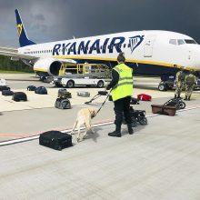 """Po priverstinio """"Ryanair"""" lėktuvo nutupdymo ES sutarė dėl naujų sankcijų Baltarusijai"""