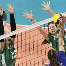 Lietuvos jaunių tinklinio rinktinei – patirtis su elitinėmis komandomis