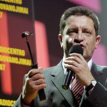 Mirė pirmos nepriklausomos radijo stoties įkūrėjas, buvęs ministras R. Pleikys