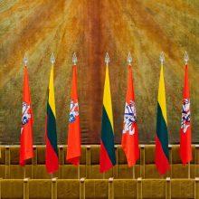 Dalis Kovo 11-osios renginių perkelti į gegužę, Seimas dirbs įprastai