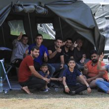 Sostinės Naujininkų mikrorajone apgyvendinta 80 migrantų, planuojama įkurdinti dar 200
