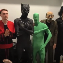 Žalgiriečiai jau atšventė Heloviną: persirengė mistiniais herojais