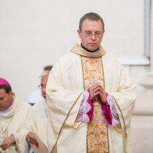 Popiežius Pranciškus Telšių vyskupu paskyrė A. Jurevičių