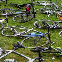 Kaune iš mikroautobuso pavogta 18 dviračių