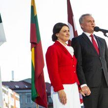 G. Nausėda su žmona vyks vizito į JAV
