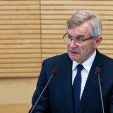 V. Pranckietis skuba: vienas teiks kandidatūrą į KT teisėjus
