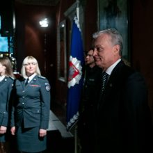 Prezidentas pasveikino policijos pareigūnus Angelų sargų dienos proga