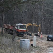 S. Skvernelis atsakė G. Nausėdai dėl asfaltuojamos gatvės: VTEK jau kreipėsi