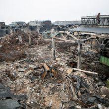 Vyriausybė: gaisro Alytuje nuostoliams ir išlaidoms – daugiau nei 1 mln. eurų