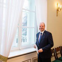 Premjeras pateikė L. Savicko kandidatūrą į ekonomikos ministrus