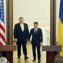 Ukraina nori aktyvesnio JAV vaidmens gesinant separatistinį konfliktą