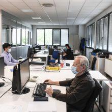 R. Lingienė: masiškai fiksuojame susirgimus darbo vietose