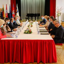 G. Nausėda: investicijos paskatintų turizmą ir laivybą Nemunu