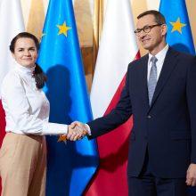 S. Cichanouskaja: Baltarusiją išgelbėti gali tik nauji rinkimai