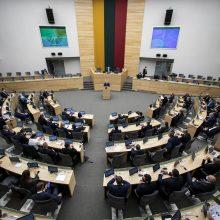 Konservatoriai siūlo išeitines Seimo nariams mokėti, jei nepradeda dirbti valstybinio darbo