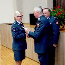 Premjeras įteikė padėkas pasižymėjusiems pareigūnams
