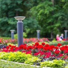 Už daugiau nei 2,3 mln. eurų bus atnaujintas Šiaulių centrinis parkas