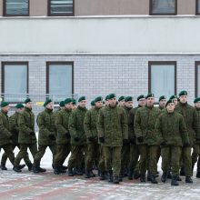 COVID-19 Lietuvos kariuomenėje: šauktiniai namo nebus išleidžiami