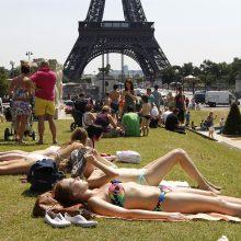 Per vasarinę karščio bangą Prancūzijoje mirė 1,5 tūkst. žmonių