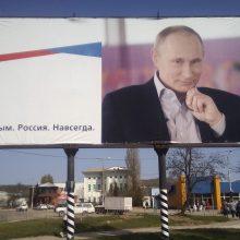 Lietuvos ir Ukrainos parlamentų komitetai ragina Rusiją nutraukti Krymo okupaciją
