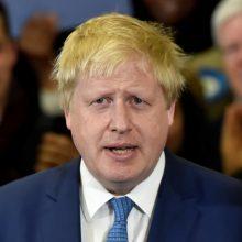 B. Johnsonas pesimistiškai vertina Londono ir Maskvos santykių perspektyvą