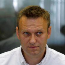 Kremliaus kritikui A. Navalnui Maskvos teismas skyrė 30 parų arešto