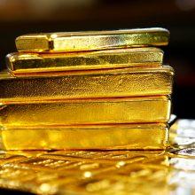 Meksikoje plėšikai pagrobė 23 mln. eurų vertės aukso luitų