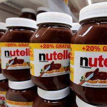 """Italijos politikas ketina boikotuoti kremą """"Nutella"""""""