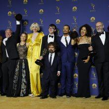 """""""Sostų karai"""" pelnė pagrindinį """"Emmy"""" apdovanojimą"""