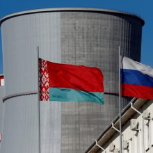 Baltarusija nori geresnių Rusijos paskolos Astravo AE statyti sąlygų