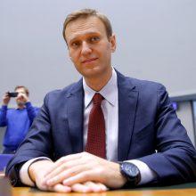 Strasbūro teismas: A. Navalno areštai yra politiškai motyvuoti