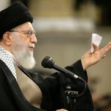 Irano lyderis: kai kurie JAV pareigūnai yra pirmarūšiai idiotai