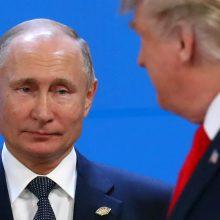 Apklausa: vokiečiai ir prancūzai labiau pasitiki V. Putinu nei D. Trumpu