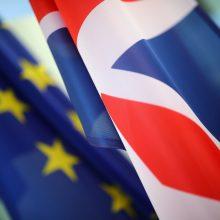 """Seime į priekį juda pasirengimo kietajam """"Brexitui"""" projektai"""