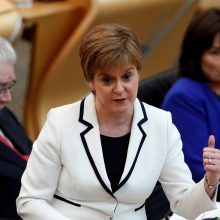 Škotijos lyderė ragina surengti antrą referendumą dėl nepriklausomybės
