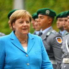 Dauguma vokiečių mano, kad A. Merkel sveikata – kanclerės asmeninis reikalas