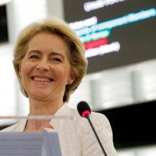 U. von der Leyen išrinkta naująja Europos Komisijos vadove