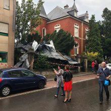 Liuksemburge siaučiant viesului sužeisti septyni žmonės