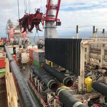 """Vokietija pašalino vieną paskutinių teisinių kliūčių """"Nord Stream 2"""""""