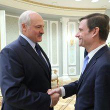 JAV ir Baltarusija po 10 metų pertraukos sugrąžins savo ambasadorius į sostines